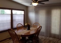 Cellular Shades by Graber & Vertical Blinds