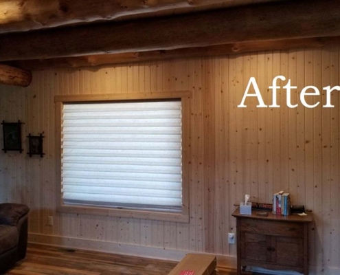 After Vignette Blinds Installation