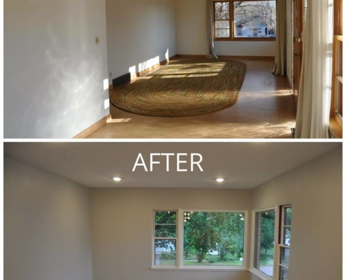 Before & After of Flooring