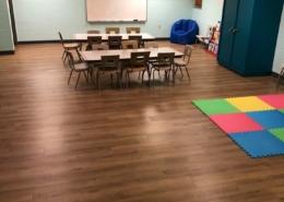 Church Classroom Flooring