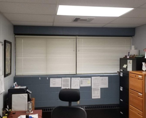 National Guard Armory New Blinds