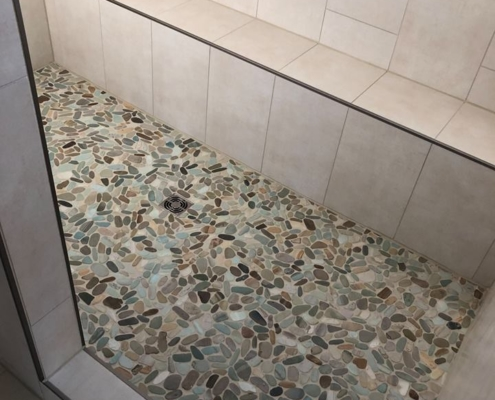 Shower Tile Work