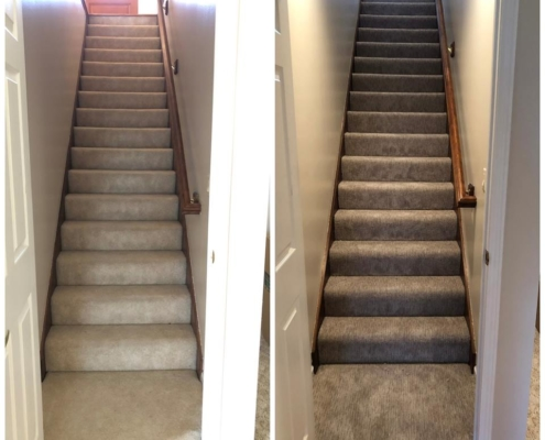 Before & After - Stairs