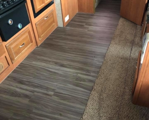 Camper Flooring Options