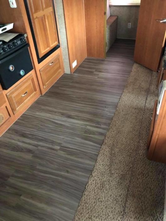 Camper Flooring Options