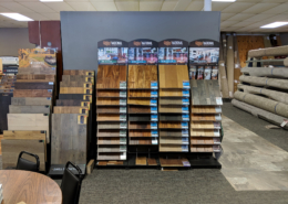 Hardwood Floor Displays at Mozak's