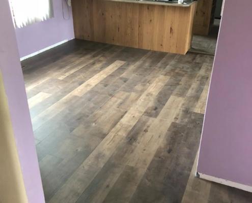 After LVP Flooring