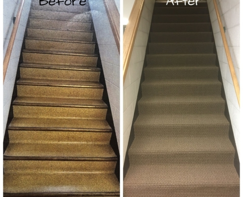 Before & After of Carpeting