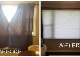 Living Room Cellular Shades
