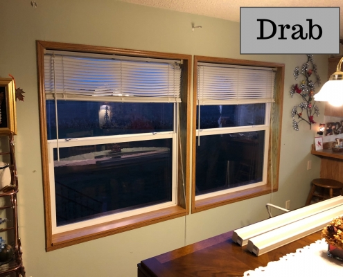 Drab Window