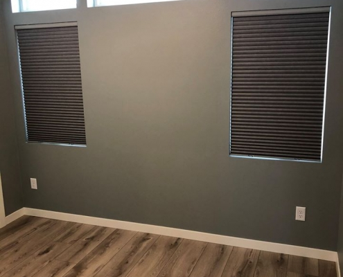 Cellular Shades for Tiny Home
