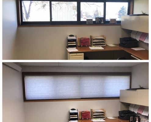 New Office Window Treatments