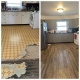 Before & After Kitchen Flooring